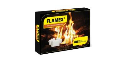 Pastile pentru aprins focul Flamex