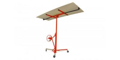 Dispozitiv pentru ridicat placi de gips-carton